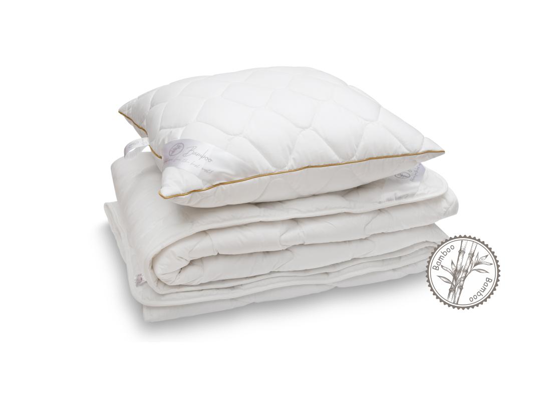 RINKINYS COMCO 140×200 antklodė ir 50×70 pagalvė su Bambuku