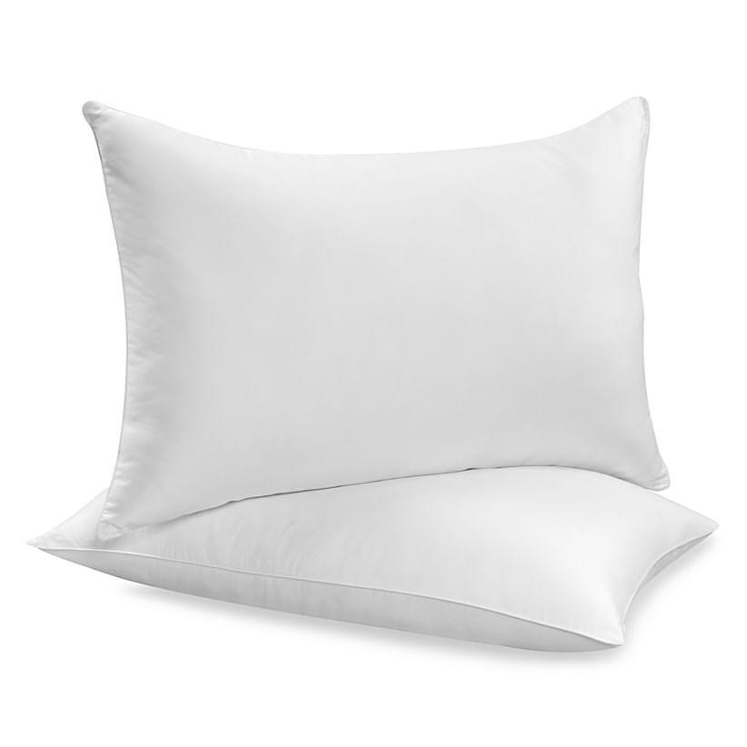 """Siuvamas drobinis pagalvės užvalkalas """"White"""""""