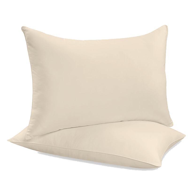 """Siuvamas drobinis pagalvės užvalkalas """"Ecru"""""""