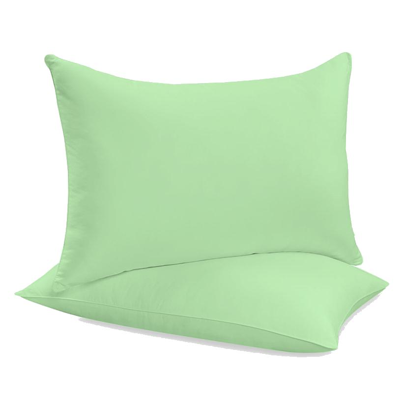 """Siuvamas drobinis pagalvės užvalkalas """"Patina Green"""""""