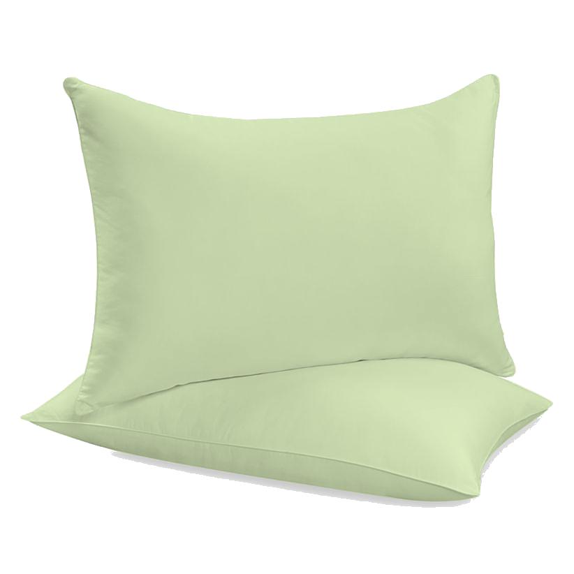 """Siuvamas drobinis pagalvės užvalkalas """"Lime Cream"""""""