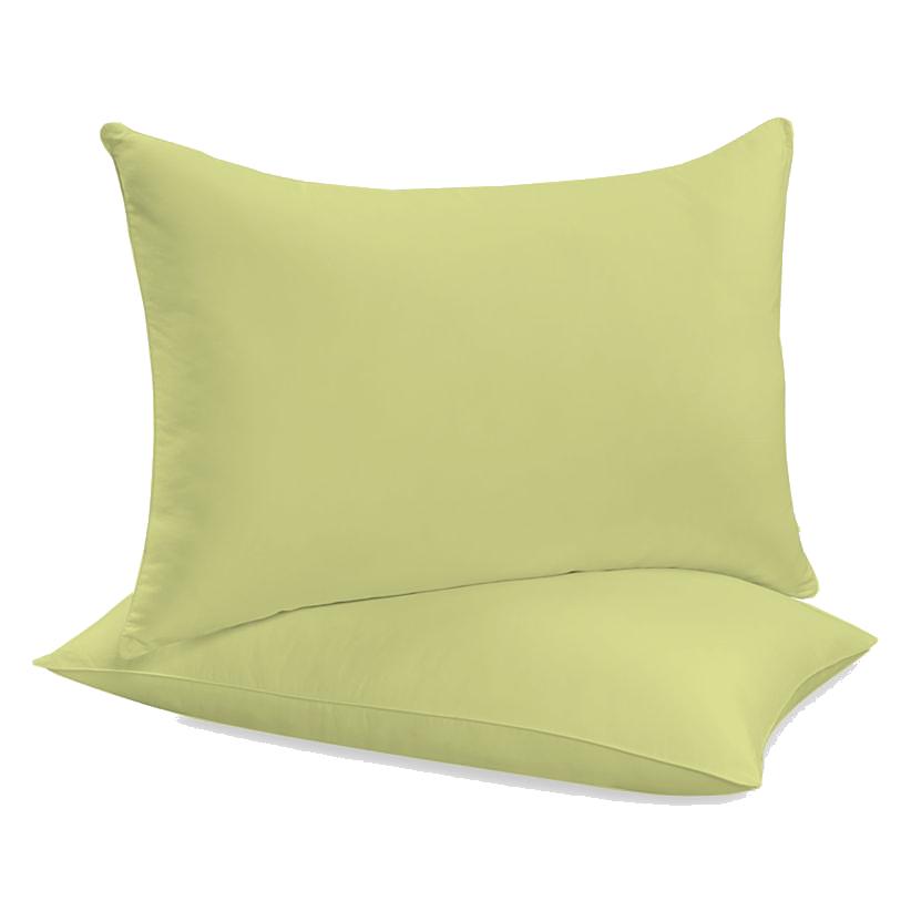 """Siuvamas drobinis pagalvės užvalkalas """"Mellow Green"""""""