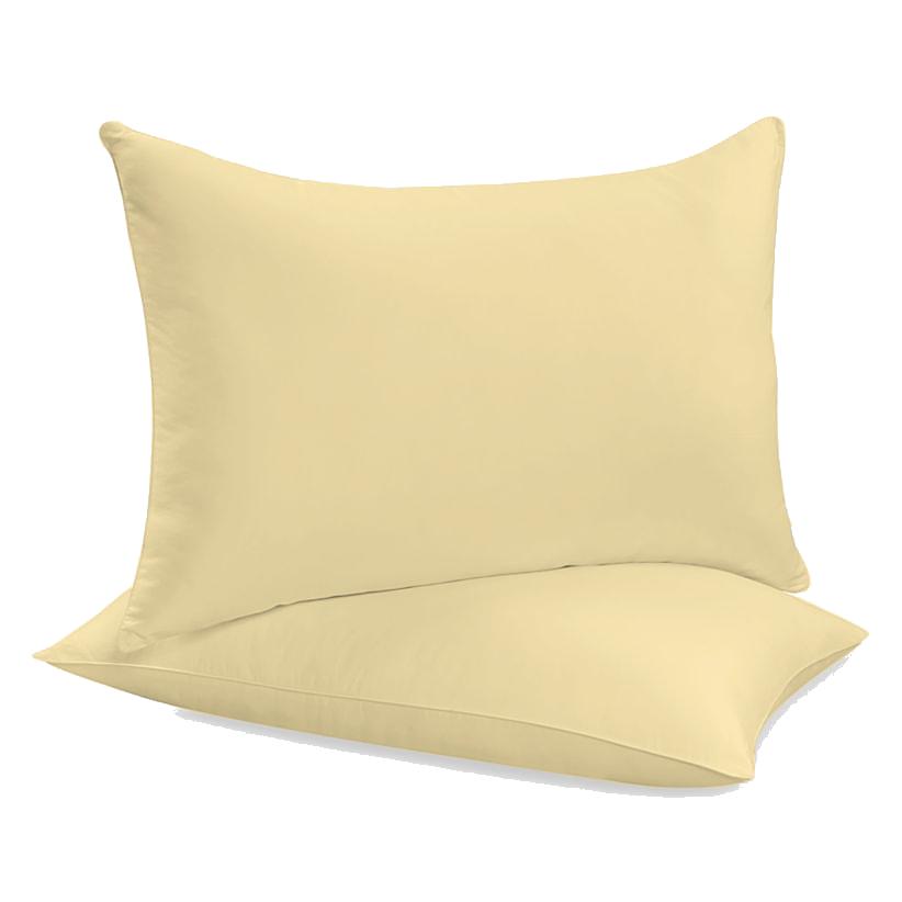 """Siuvamas drobinis pagalvės užvalkalas """"Double Cream"""""""