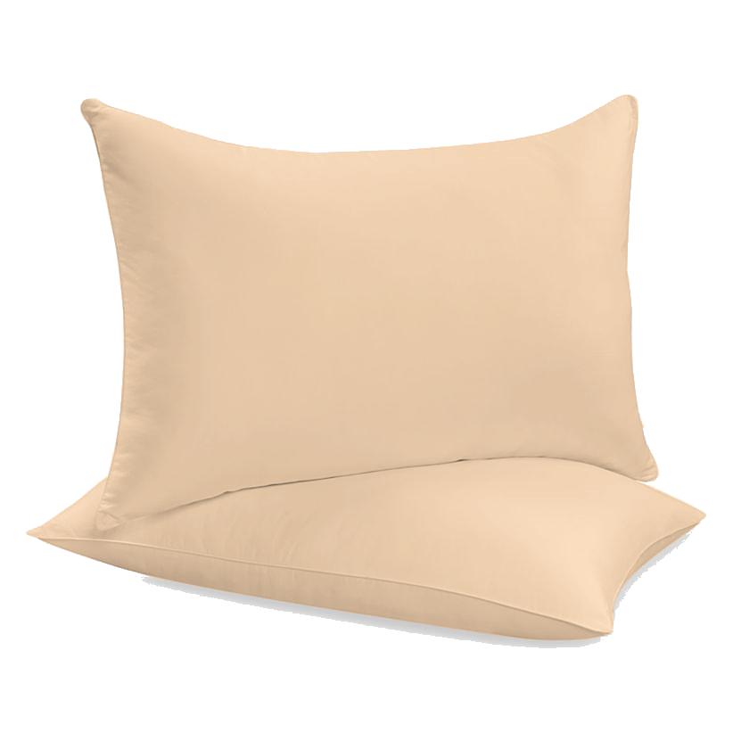 """Siuvamas drobinis pagalvės užvalkalas """"Tender Peach"""""""