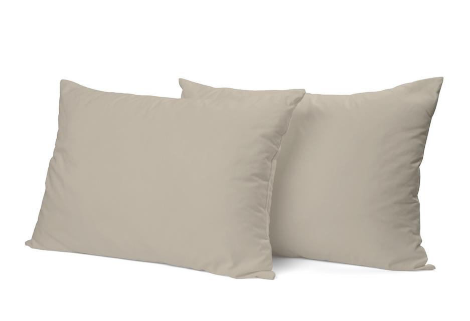 """Siuvamas PREMIUM satino pagalvės užvalkalas """"Oyster Gray"""""""