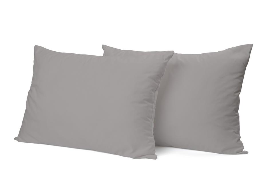 """Siuvamas PREMIUM satino pagalvės užvalkalas """"Opal Gray"""""""