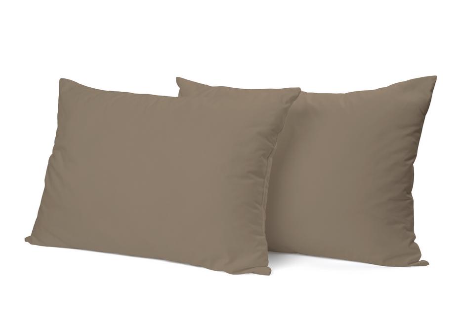"""Siuvamas PREMIUM satino pagalvės užvalkalas """"Fossil"""""""