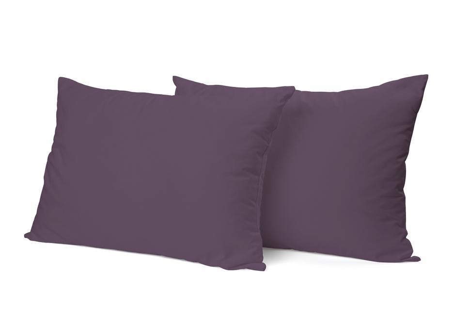 """Siuvamas PREMIUM satino pagalvės užvalkalas """"Vintage Violet"""""""