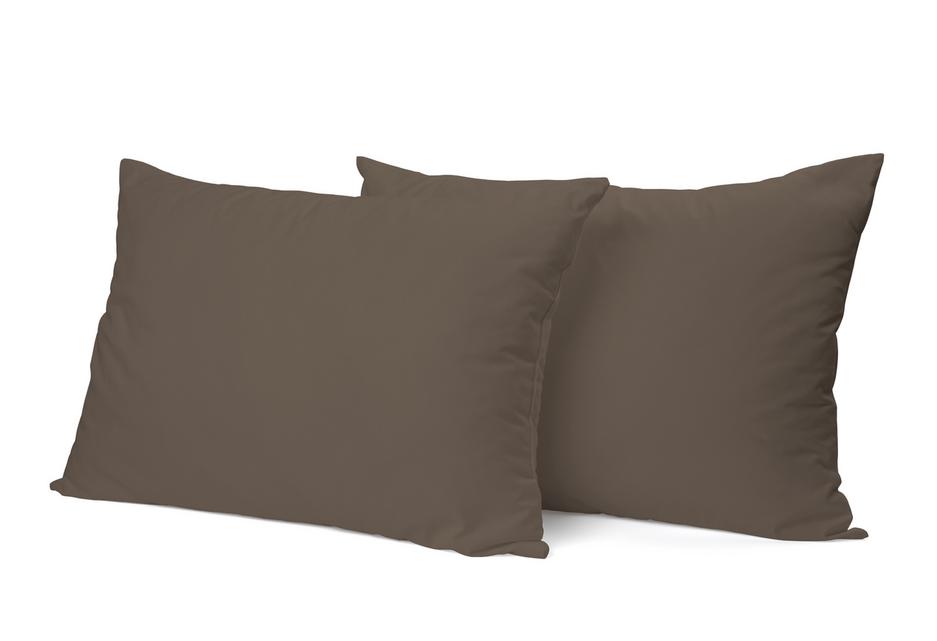 """Siuvamas PREMIUM satino pagalvės užvalkalas """"Chocolate"""""""