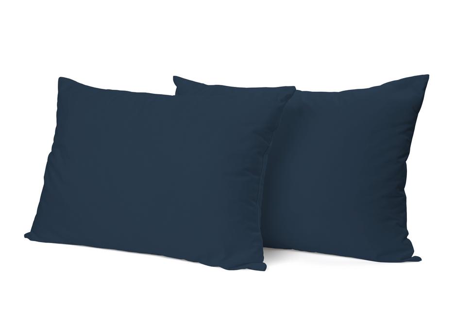 """Siuvamas PREMIUM satino pagalvės užvalkalas """"Navy"""""""