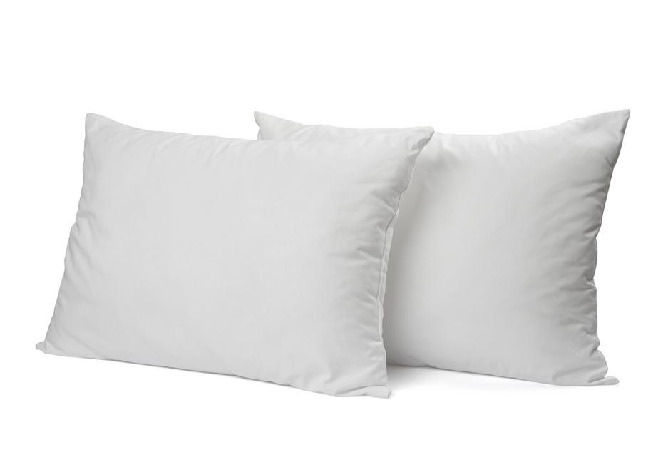 """Siuvamas PREMIUM satino pagalvės užvalkalas """"White"""""""
