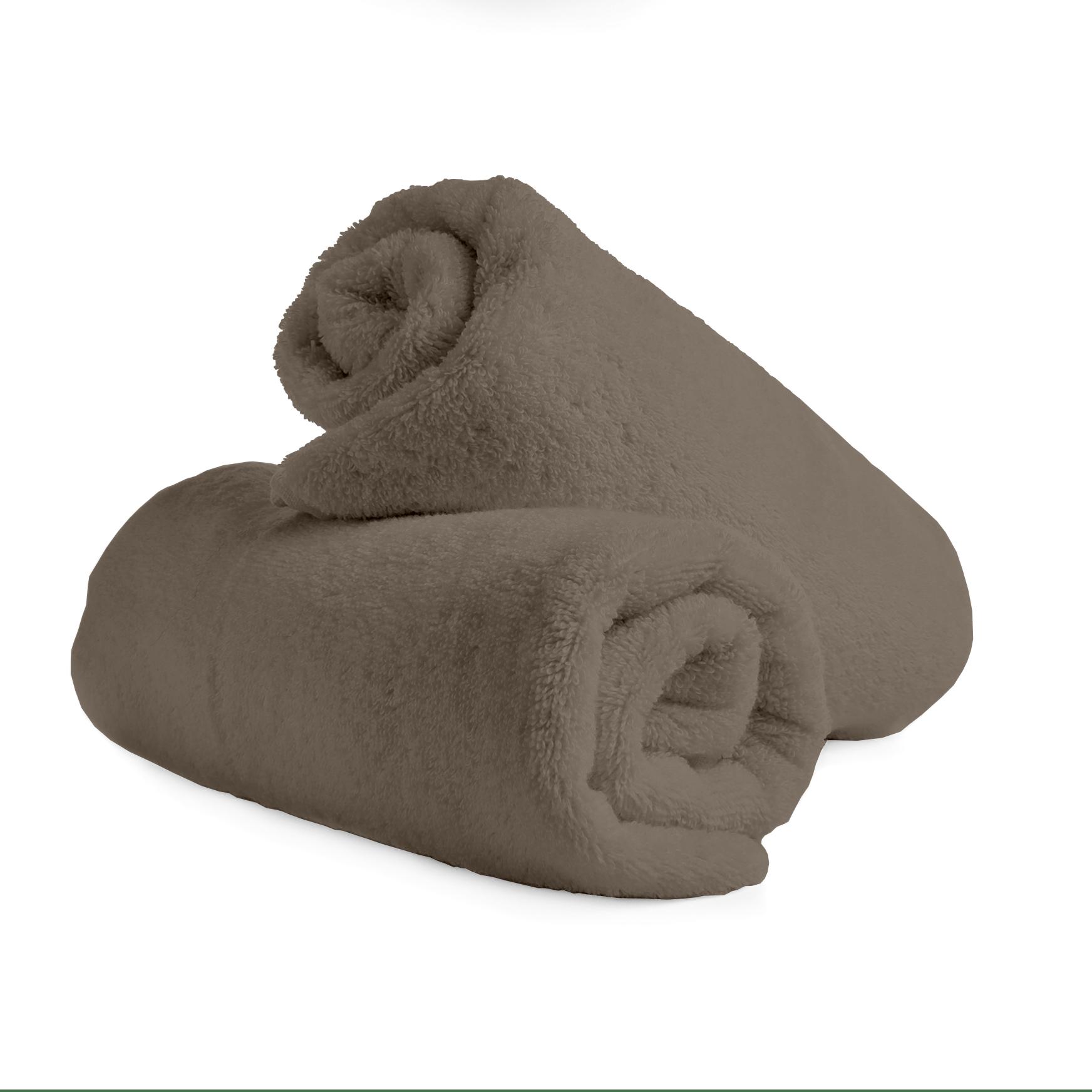 """Frotinė paklodė su guma """"Taupe"""""""