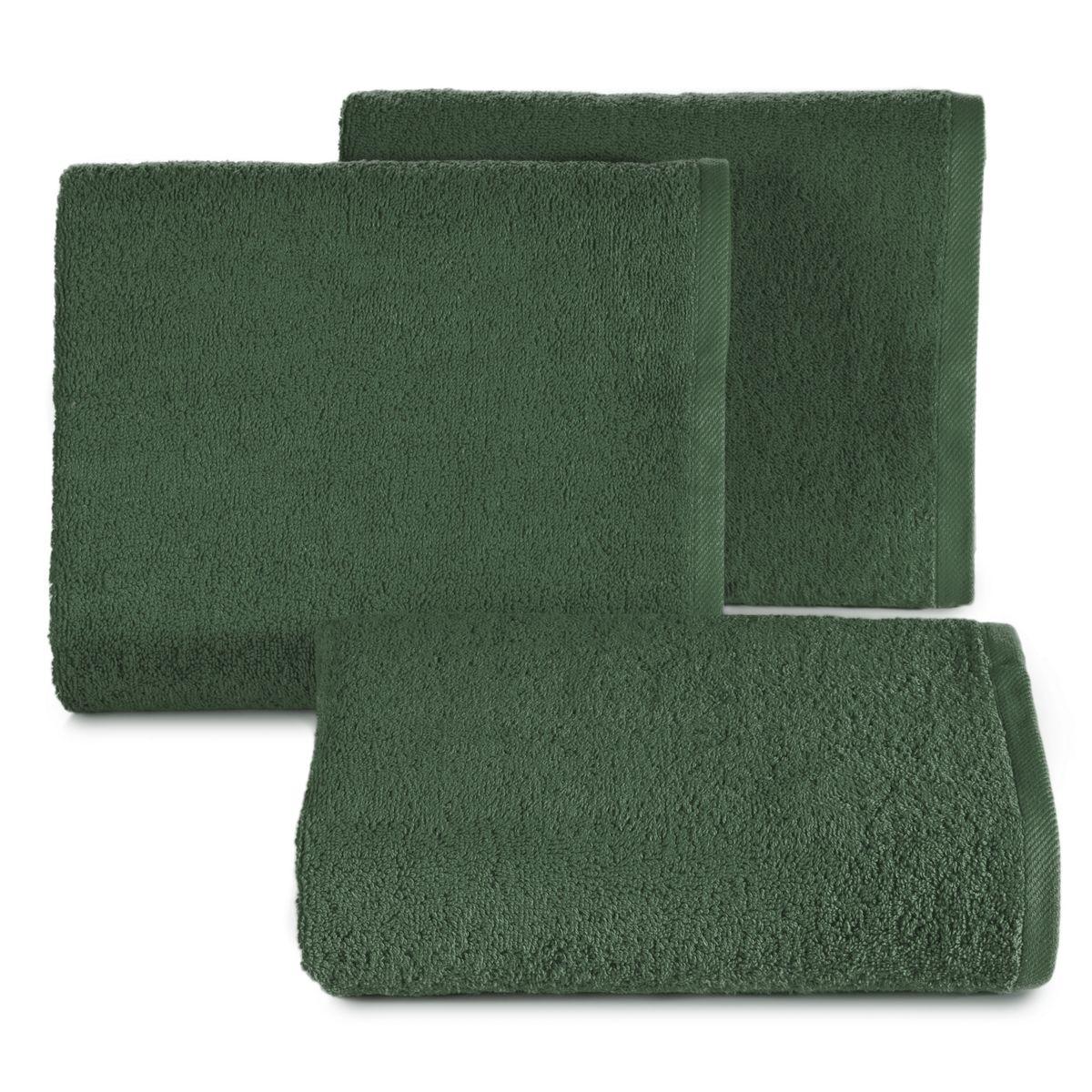 """Klasikinis 100×150 natūralus rankšluostis """"Žalia"""""""