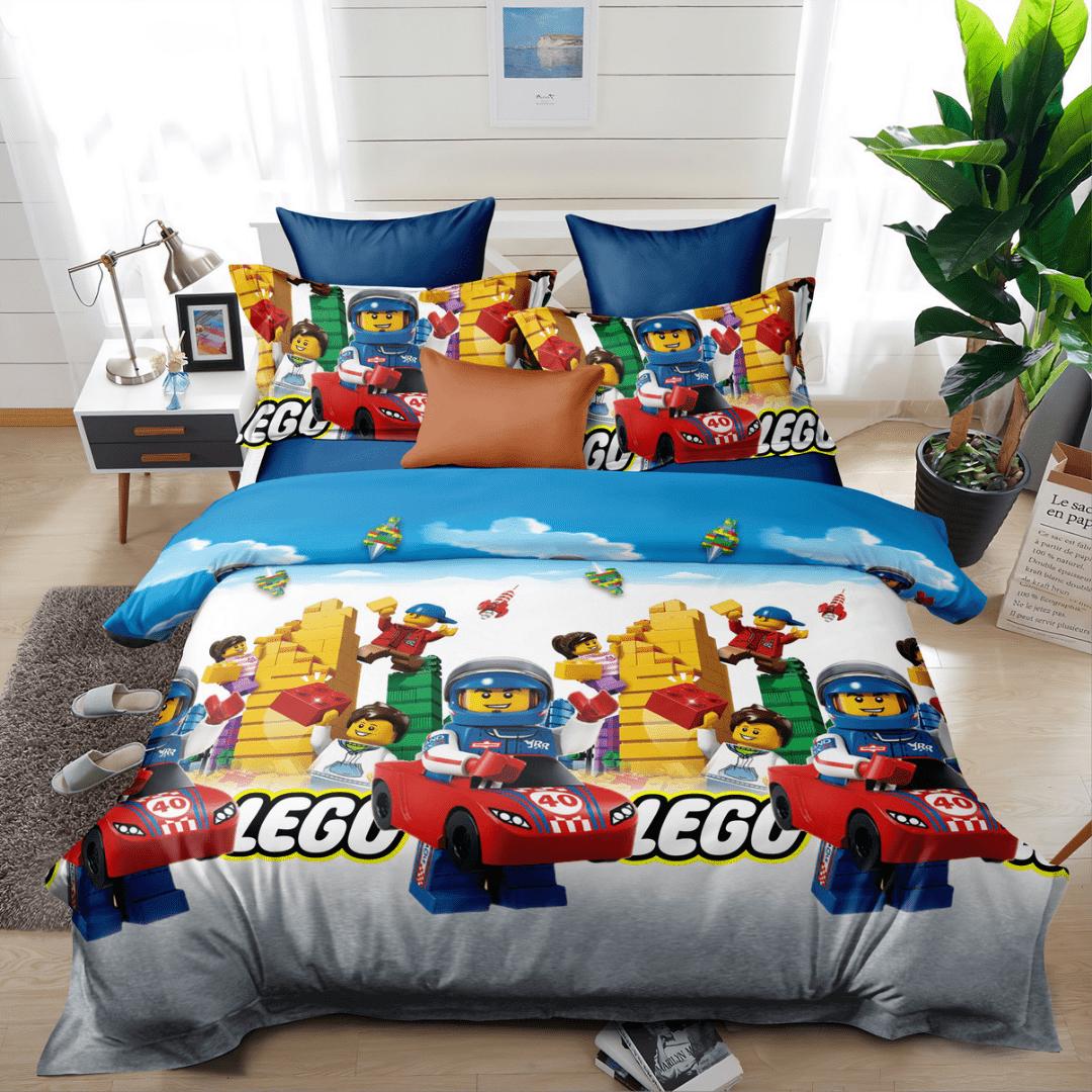 "Siuvamas patalynės komplektas ""Lego"""