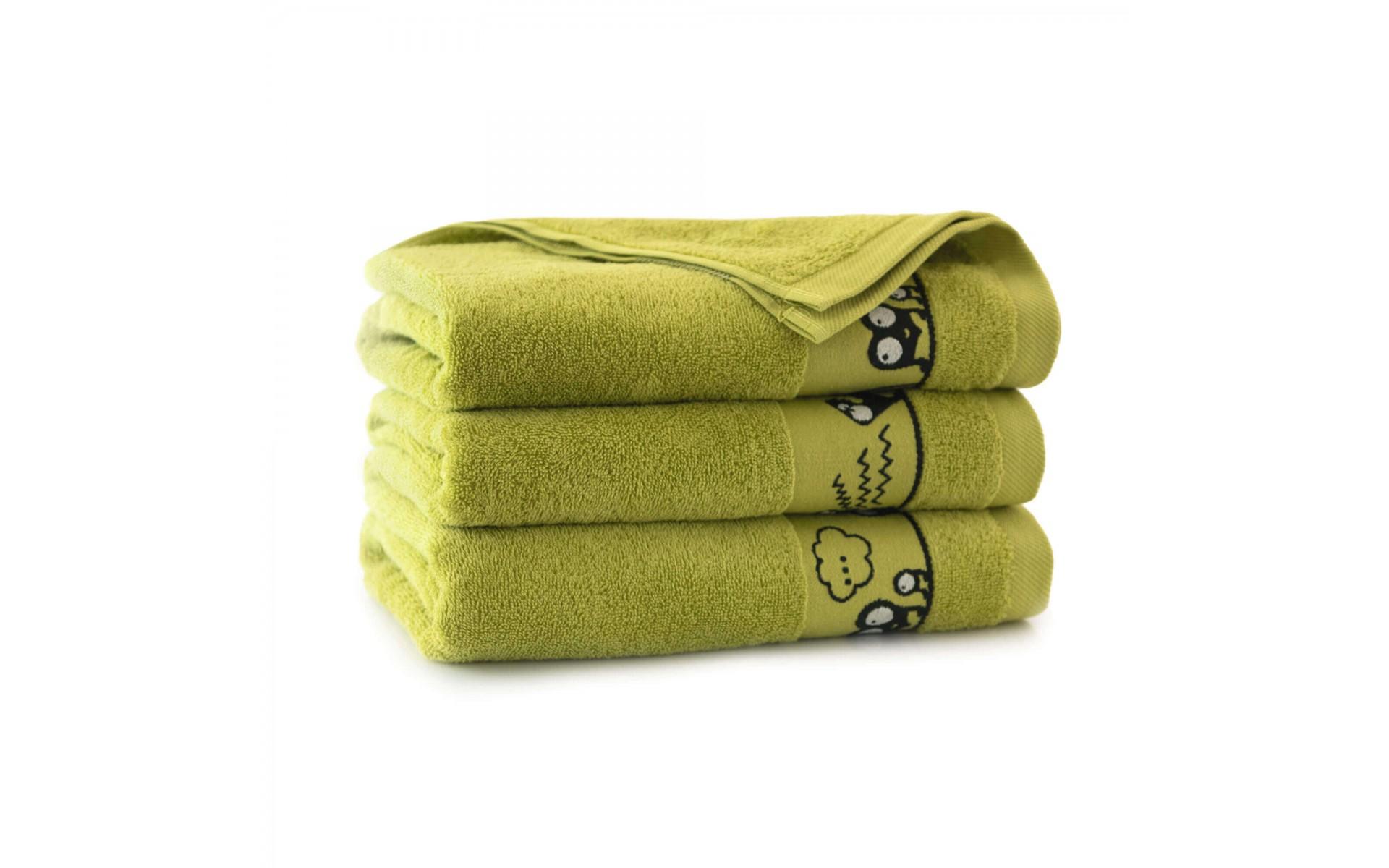 "Egipto medvilnės rankšluostis vaikams ""Green eyes"""