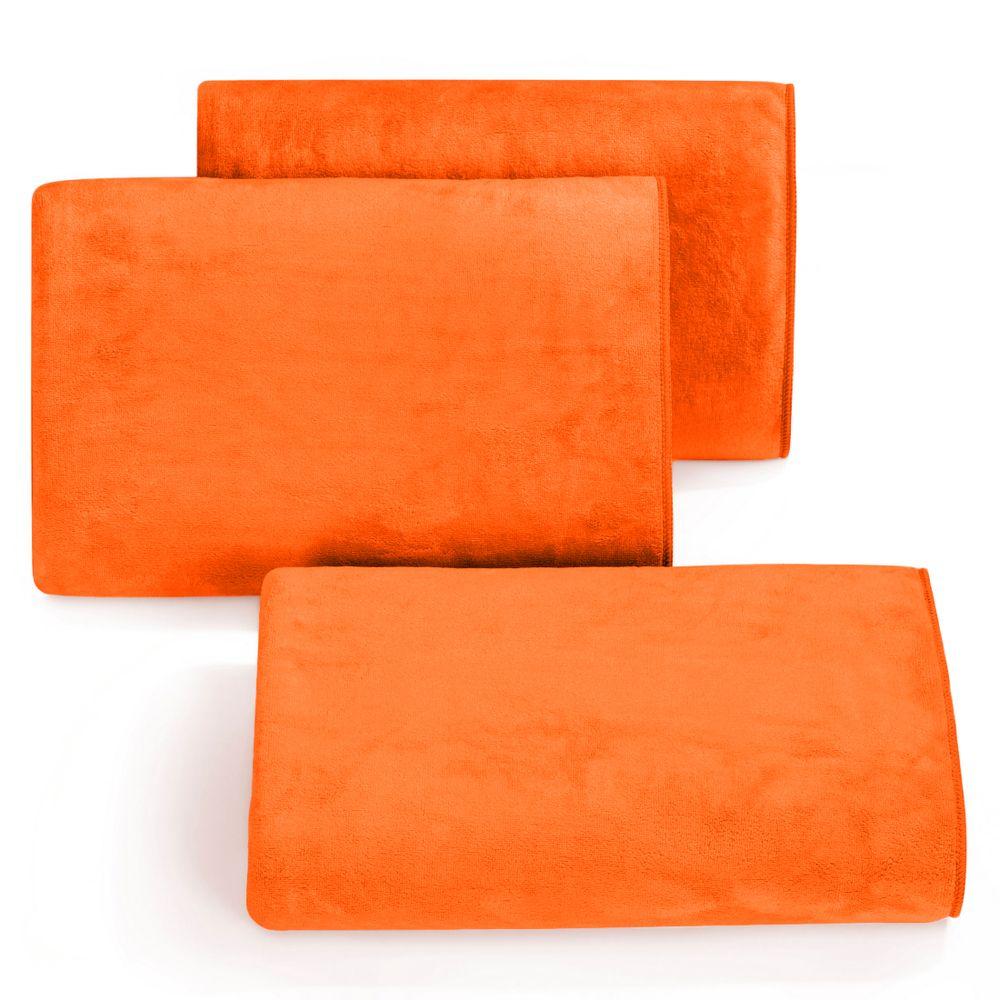 """Greitai džiūstantis universalus rankšluostis """"Amy oranžinis"""""""